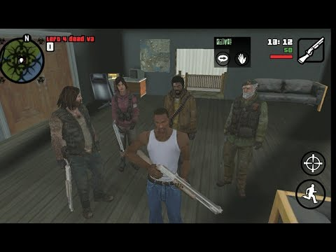 Mod Left 4 Dead V3 Gta San Andreas ANDROID