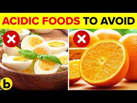 9 Acidic Foods You Should Stay Away From
