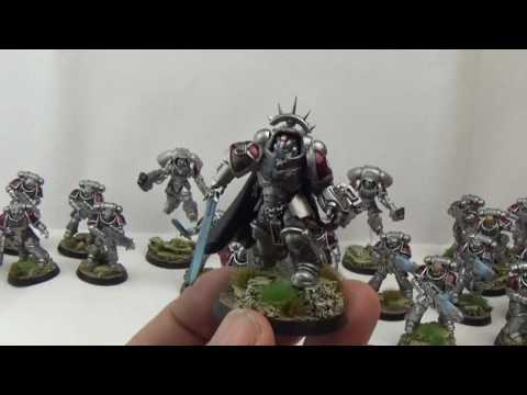 Warhammer 40k Dark Imperium Primaris Space Marine Army and Alclad II Paints Review