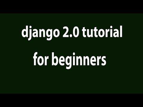 Django 2.0 Tutorial 2: Creating First Django Application