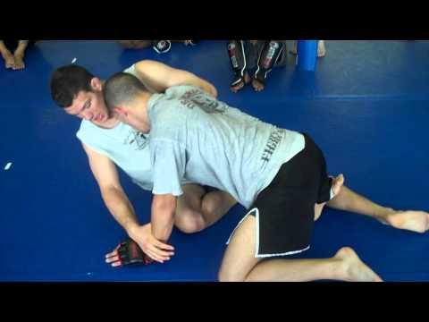 Ricardo Almeida Amateur MMA Team Butterfly Guard Reversal - Kimura Grip - RABJJ Hamilton NJ