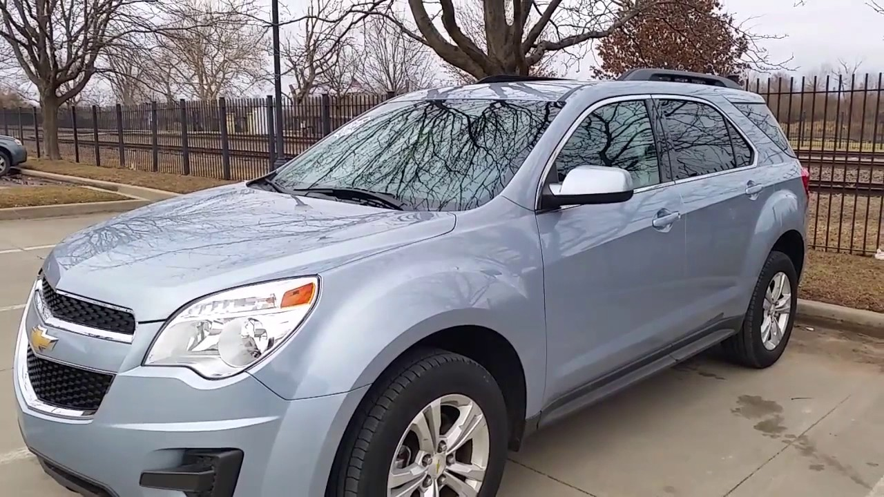2014 Chevy Equinox LT light blue - YouTube