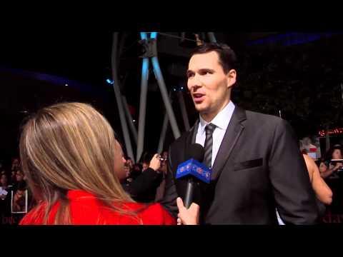 Daniel Cudmore Talks Perfect Pose At 'Breaking Dawn Part 1' World Premiere