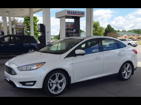 2016 ford focus review fuel economy test fill up costs youtube. Black Bedroom Furniture Sets. Home Design Ideas