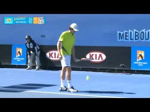 JP Smith v Banes full match: Australian Open 2012 Play-off