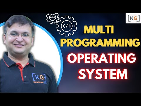 Part - 6 | Multiprogramming Operating System in HINDI | what is Multi programming os