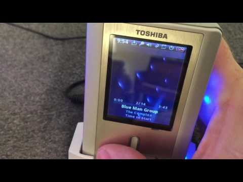 Vintage Tech: Toshiba MEGF40 Gigabeat MP3 Player