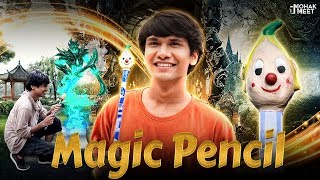 MAGIC PENCIL : जादुई पेंसिल PART 1 SHORT FILM | SHAKA LAKA BOOM BOOM || MOHAK MEET