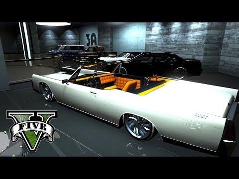 GTA V - Comprei uma garagem só para os Lowriders! ‹ Getaway Driver ›