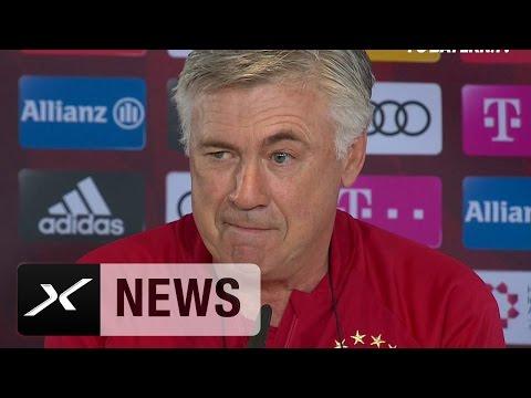 Carlo Ancelotti über Manuel Neuer, den HSV und die Wiesn | Hamburger SV - FC Bayern München