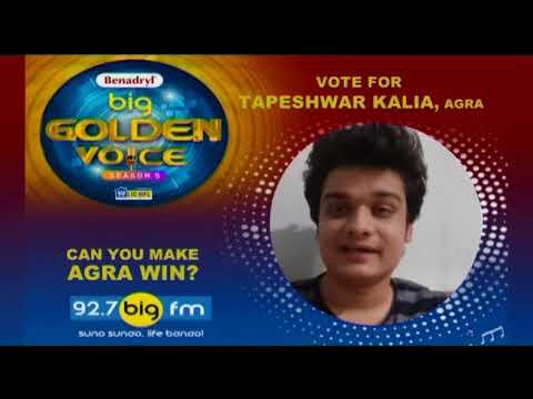Vote for Tapeshvar from Agra | #BBGV 5