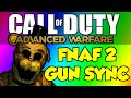 COD Advanced Warfare Gun Sync - Five Nights at Freddy's 2 - It's Been So Long (Living Tombstone)