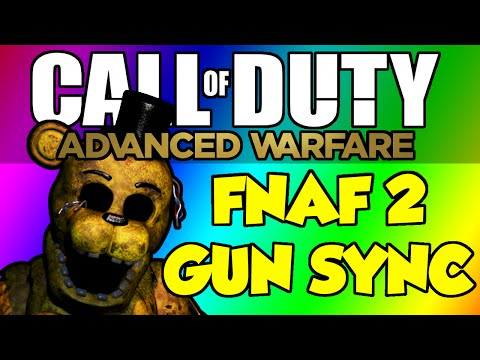 COD Advanced Warfare Gun Sync - Five Nights at Freddy's 2 - It's Been So Long (Living Tombstone)