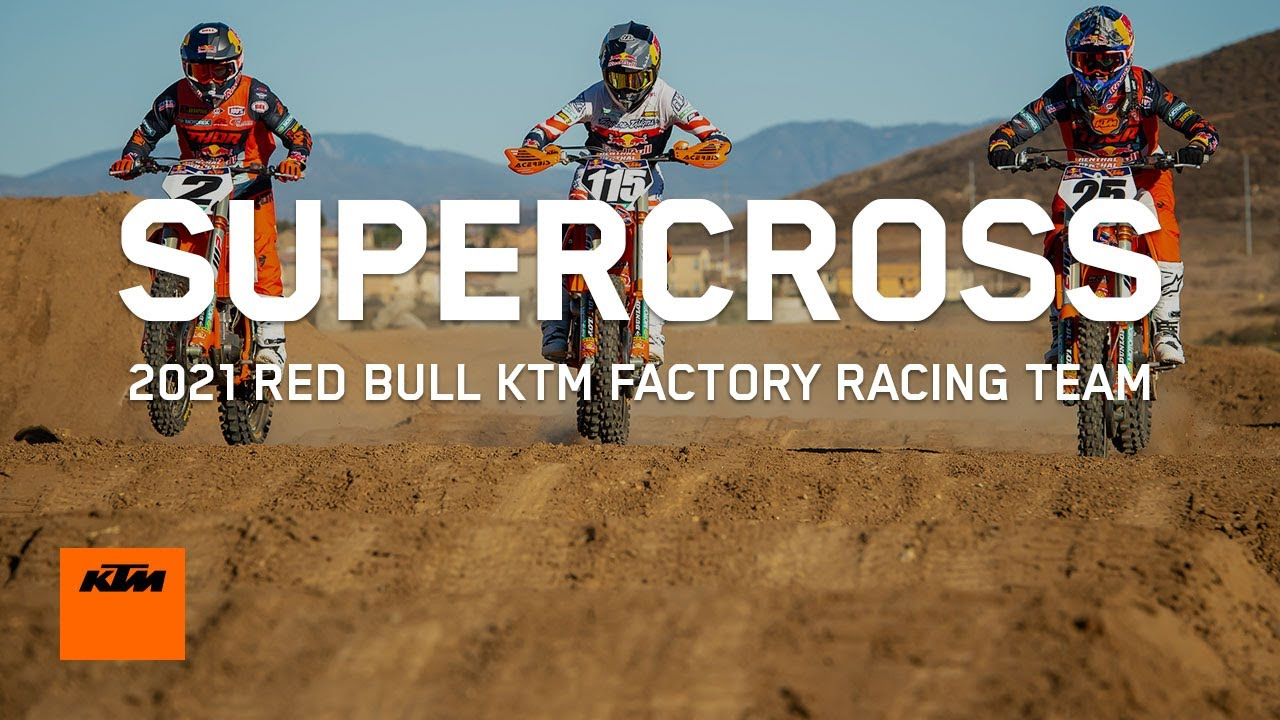 Red Bull KTM Factory Racing - 2021 Supercross team | KTM