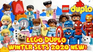 LEGO DUPLO Winter Sets 2020 NEW! Новые наборы ЛЕГО ДУПЛО зима 2020 года.  Строим из ЛЕГО Дупло.