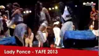 Lady Ponce à Yaoundé en fête (Yafé)