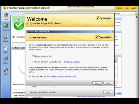 2 update symantec endpoint server
