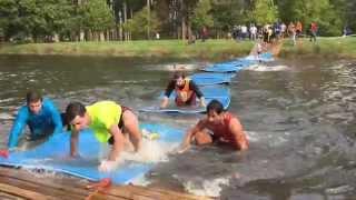 Así fue la Gladiator Race de Pontevedra