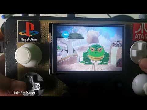 PSP Portable RaspberryPi RetroPie