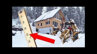 Weatherman PRANKED US! First Blizzard in New House!