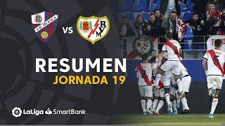 Resumen de SD Huesca vs Rayo Vallecano (0-2)