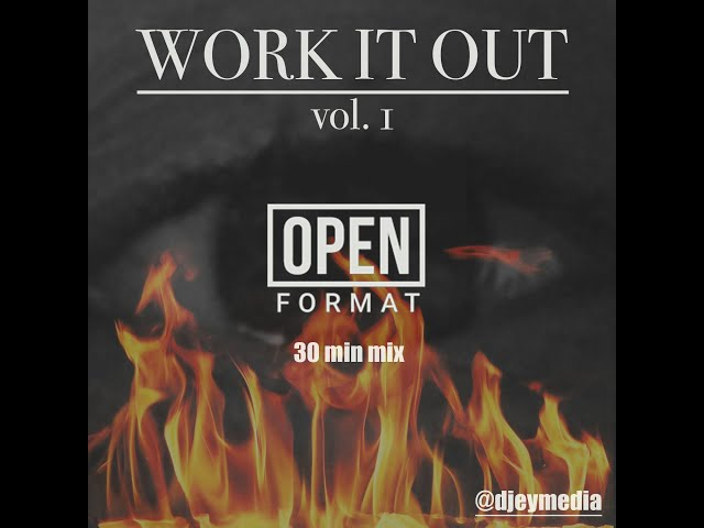 Workout Mix - Work It Out Vol  1 Open Format