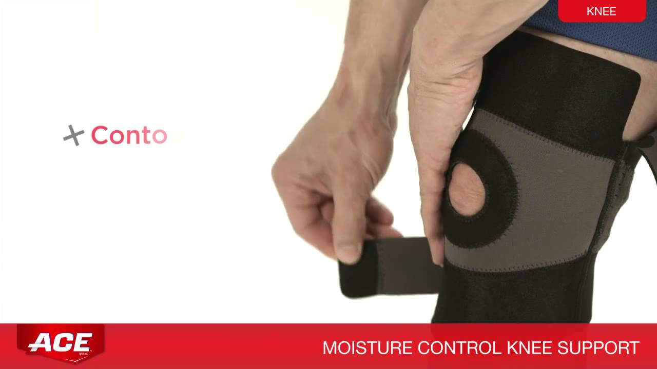 1ed93fb486 ACE(TM) Brand Moisture Control Knee, Cat. No. 209601_02_03 - YouTube
