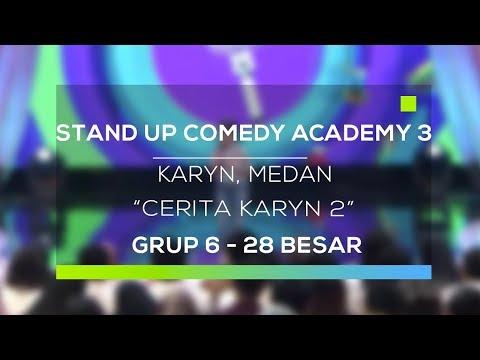 Stand Up Comedy Academy 3  Karyn, Medan - Cerita Karyn 2