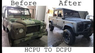 Land Rover Defender TDI 300 HCPU TO 3.9 V8 DCPU