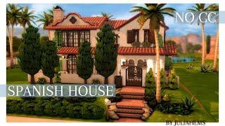 Испанский дом│Строительство│Spanish House│SpeedBuild [The Sims 4]