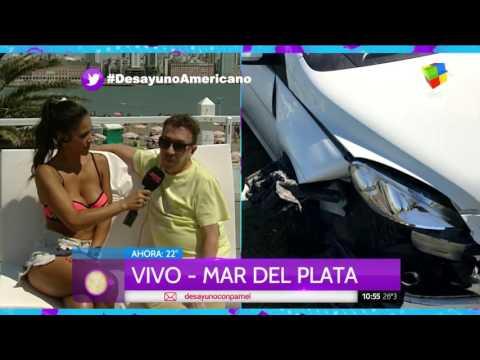 Anibal Pachano habló del accidente en Mar del Plata