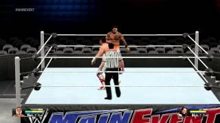 WWE 2K15 Test Gameplay Intel HD Graphics 4000