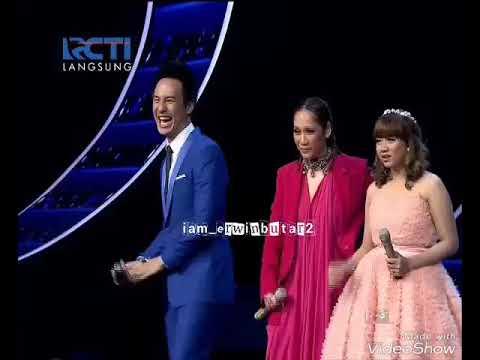 Judika bawain lagu BCL ( Cinta pertama Sunny ) Indonesian Idol 2018 RCTI