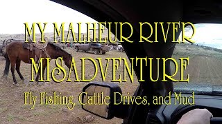 MY MALHEUR MISADVENTURE | Fly Fishing, Cattle Drives, and Mud