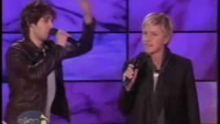 Josh Groban duet with Ellen Degeneres