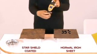 Heat Reflective Cool Coating (www.starshield.in)