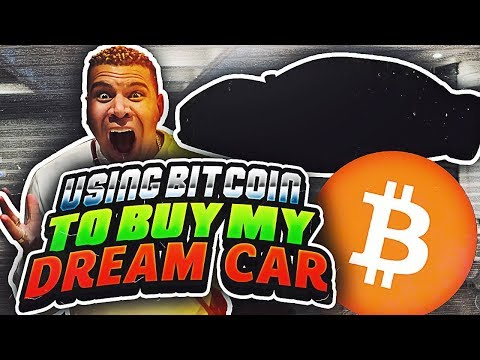 BUYING MY DREAM CAR WITH BITCOIN!! *IT WORKED*
