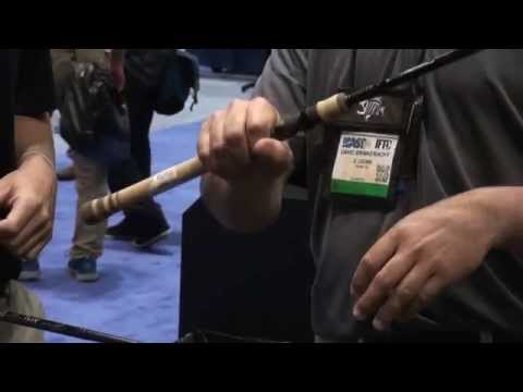 G Loomis IMX Bass Rod At ICAST 2014