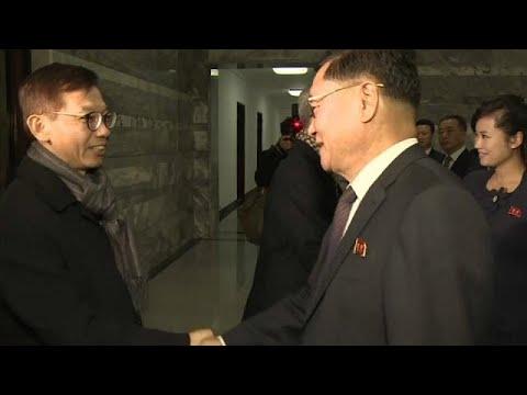 Coreias discutem participação nos Jogos Olímpicos de Inverno