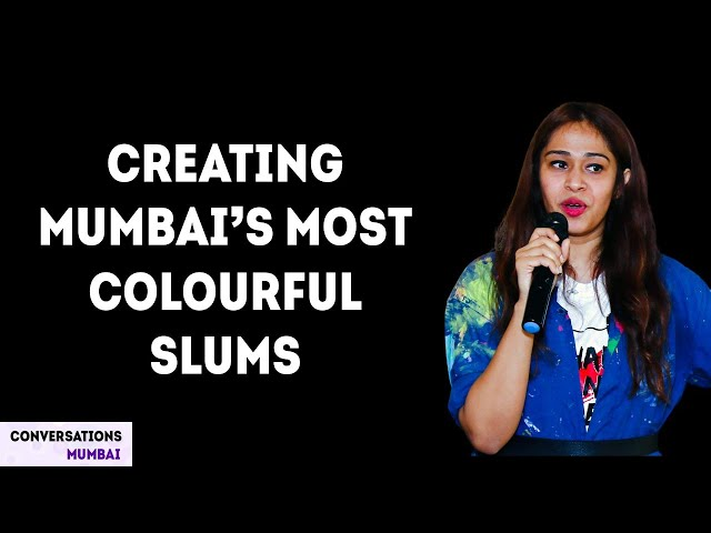 Bringing positivity to Mumbai slums through colour | Inspirational Talk by Dedeepya Reddy
