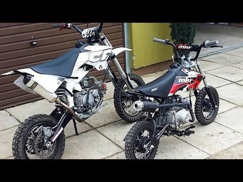 Small Pit Bikes - 150cc + 80cc - Małe motorki miniaturowe crossy mini motory