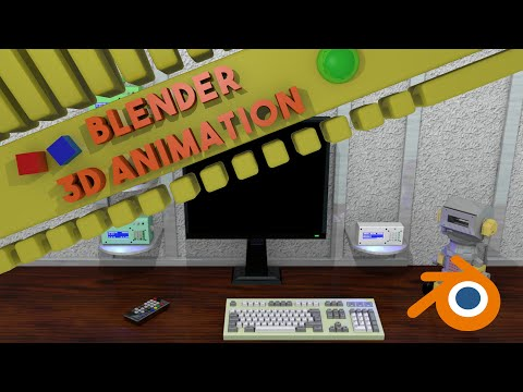 Render Animation Jarvis Home Automation (Version 1)