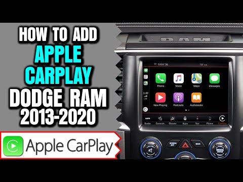 Ram Apple CarPlay Upgrade, 2013-2019 Dodge Ram Uconnect 8.4 Apple CarPlay Android Auto Upgrade
