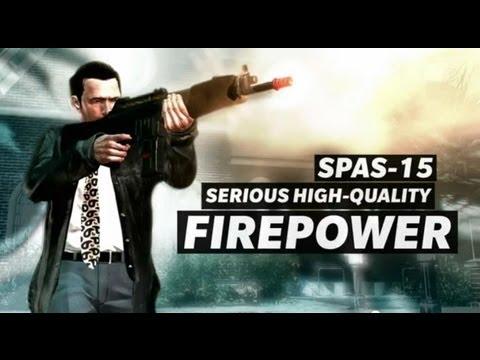 Max Payne 3 Weapons Trailer Shotguns