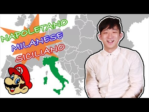 KOREANS try to speak different ITALIAN DIALECTS