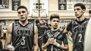 Ball Brothers Take Down #1 Montverde At City Of Palms Classic! Lonzo takes over! feat. RJ Barrett