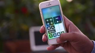 ios 11: add hotspot and airdrop in Control center