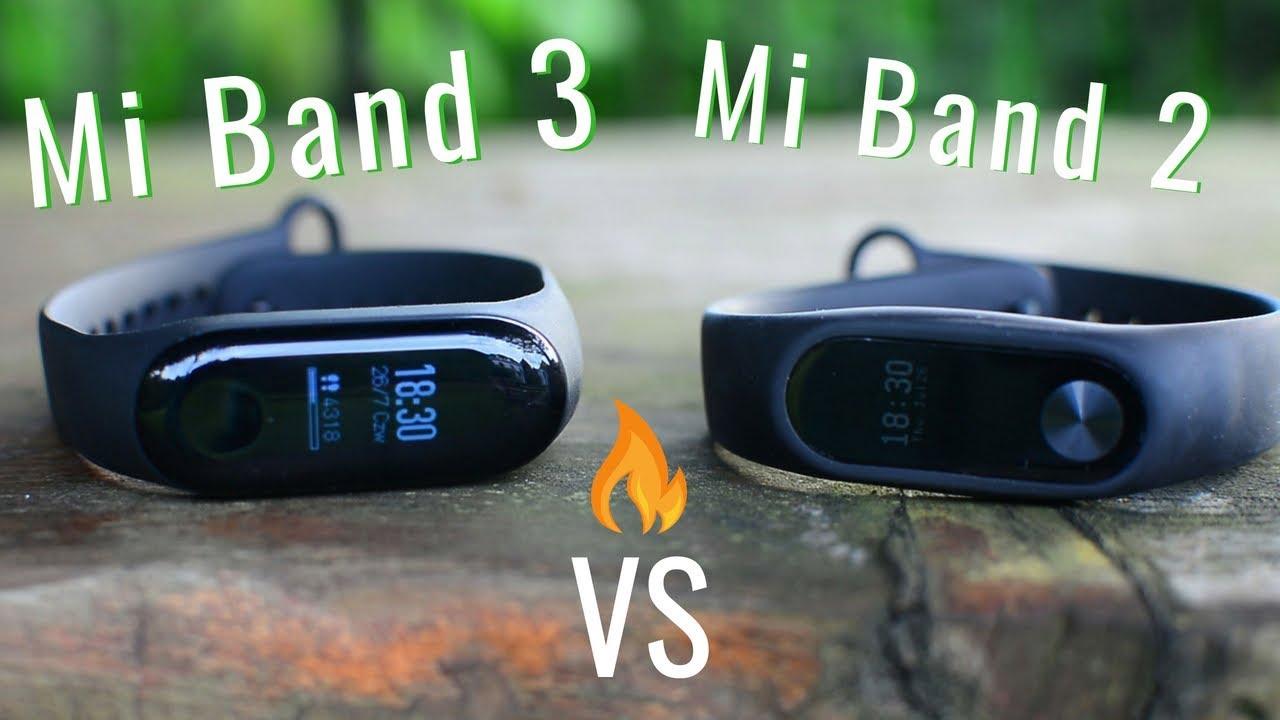Mi Band 3 vs Mi Band 2. Porównanie opasek Xiaomi + Recenzja - YouTube c0791932c9c