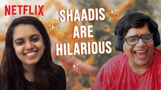 @Tanmay Bhat Reacts to The Big Day ft. Aishwarya Mohanraj | Netflix India
