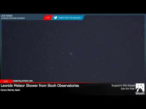 The Leonids Meteor Shower 2016